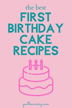 20 EASY healthy smash cake recipes for your baby's first birthday. Want a healthy birthday cake for your baby? Check out these awesome recipes for paleo, organic, gluten-free, dairy-free, allergy-friendly smash cakes for your baby's birthday. | Smash cake girl | smash cake boy | smash cake DIY #firstbirthday #cakesmash Smash Cake Recipes, Smash Recipe, Frosting Recipes, Baby Cake Smash, Smash Cakes, Healthy Birthday Cakes, Healthy Cake, Baby 1st Birthday, First Birthday Cakes