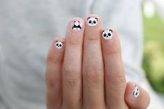 Best Cute Nails Inspiration Arts for Prom (Coffin Nails, Matte Nails) - Page 34 of 70 - Diaror Diary Manicure, Gel Nails, Cute Nail Art, Cute Nails, Party Nail Design, Nails Design, Panda Nail Art, Mickey Nails, Nail Art For Kids