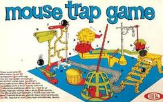 Mouse Trap .... this was fun with my friends at their house on Saturday