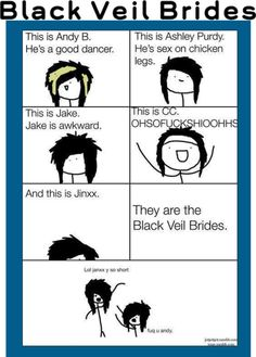They are the Black Veil Brides
