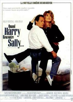 """Quand Harry rencontre Sally"" avec Meg Ryan et Billy Cristal."