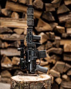 Daily Gun Dose — 📸 ・・・ Foldy bois for the win. Tactical Wall, Tactical Guns, Weapons Guns, Guns And Ammo, Firearms, Shotguns, Fire Powers, Military Guns, Mens Gear