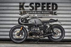 K-Speed Whips Up a BMW R100 Retro Cafe Racer. A big old dog that cleans up well