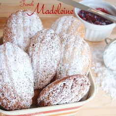 Powdered madelines (from TJs)