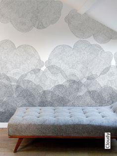 Tapete: Cloudy - bien fait paris - TapetenAgentur