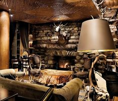 Now that's a Mans Cave... or should I say Caveman's Den...