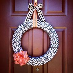 DIY Halloween wreath