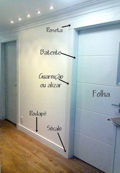 Ele é um detalhe. Mas faz uma diferença!! Saiba qual a melhor escolha para sua casa aqui. #rodapé #decoração #acessóriosdecoração #reforma #construção