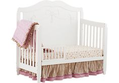 Shop for a Zendaly Princess Crib at Rooms To Go Kids. Find  that will look great in your home and complement the rest of your furniture. #iSofa #roomstogo