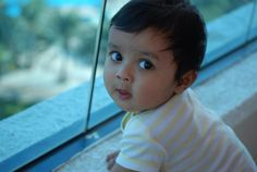 Naughty look of my son
