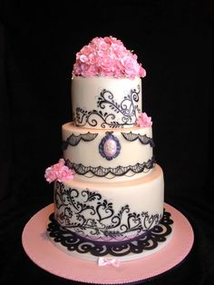 331 best 40th Birthday Cake images on Pinterest   Pretty cakes ...
