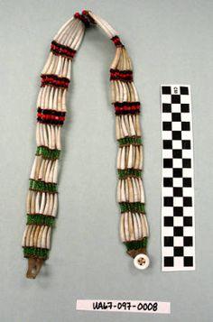 Necklace, Dentalia :: University of Alaska Museum of the North