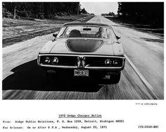 1972 Dodge Charger Rallye Factory Photo