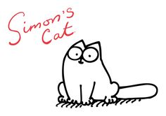 Simon's Cat is the best!  So Cute :)