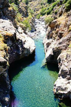 Vallée d'Asco (Asco, Corse) Nous allions nous y baigner tous les étés avec notre chien Bandit !