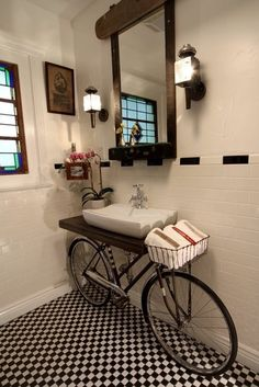 The Hipster Bathroom