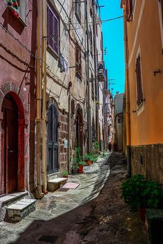 Bosa is a town n comune in de province of Oristano, Sardinia region of Italy