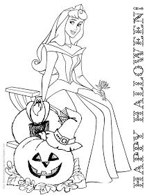 Beautiful Princess Halloween Coloring Pages Contemporary