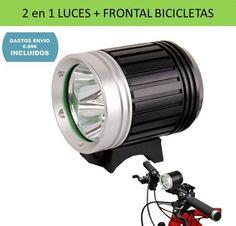 Accesorios ciclismo, iluminacion, faros y luces delanteras para bicicletas