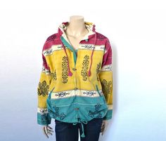 PALME French Vintage  Hoodie Outerwaer by bOmode on Etsy, $68.00
