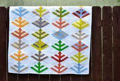 Klee's Trees pattern by Malka Dubrawsky / Cudny quilt, muszę coś takiego powołać do życia :-)