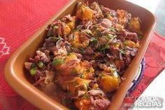 Receita de Picadinho de carne seca com abóbora em receitas de carnes, veja essa e outras receitas aqui!