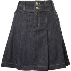 denim skirt, if only it was mid-calf length it'd be perfect.