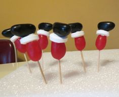 Jelly Bean Christmas Cupcakes | The WHOot