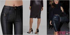 Deriler kadınların severek kullandığı özel parçalardır. 2017 Modasında Deri Rüzgarı Esecek