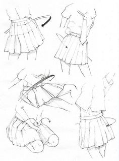 kreslenie sukne navod
