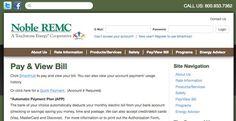 Noble REMC bill pay