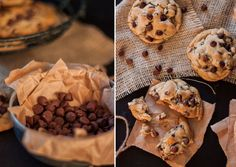 The Best Chocolate Chip Cookies Mexican Food Recipes, Cookie Recipes, Best Chocolate Chip Cookie, Quick Recipes, Delicious Recipes, Baking Tips, Oreo, Yummy Food, Cooking