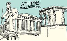 athens city guide (design sponge)