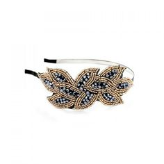 Gorgeous Style Crystal Beads Embellished Women's Hair Band, DEEP BLUE in Hair Accessories | DressLily.com