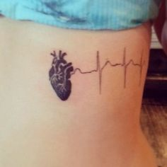 heart beat tattoo tattoo ideas