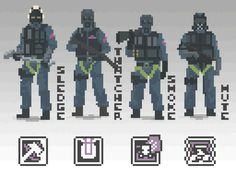 S.A.S Pixels This artwork is belong to NotFuji,Please rate this in Steam. The creator links http://steamcommunity.com/id/FujiFujiFujiFuji/ https://fujinaka.deviantart.com/