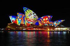 VIVID Sydney 2013 | Projected Lights on Sydney Opera House
