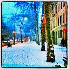 snow at lyon