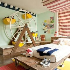 Boys room. Love!