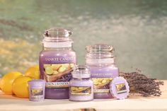 Yankee Candle heaven! Lemon Lavender Yankee Candle. For that perfect fruity fresh fragrance for your home. In stock now! www.YankeeAromaDirect.co.uk
