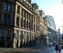 Newcastle upon Tyne, Tyne and Wear (fka Northumberland), England - Newcastle upon Tyne commonly known as Newcastle, is a city in the metropolitan county of Tyne and Wear in North East England. It is situated on the north western bank of the River Tyne's estuary and centred 8.5 mi (13.7 km) from the North Sea.