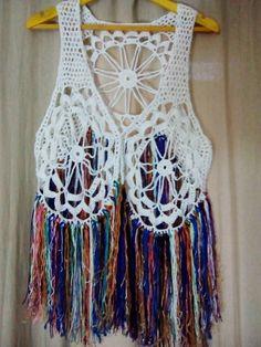 Chaleco a Crochet 1