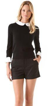 Alice + olivia Porla Collared Sweater on shopstyle.com