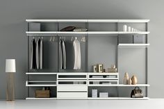 Genial Walk In Custom Made Modern Italian Closet Systems. Visit Our Showroom For  More Details Or
