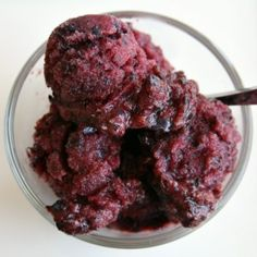 Ice cream/ sherbet on Pinterest | Ice, Blueberry Sorbet and Mousse