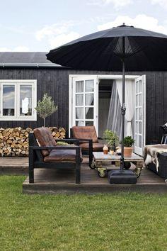 Une maison d'été au Danemark
