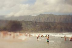 Hawaii paddle-out memorial.