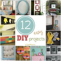 Lovely Easy Diy Home Projects #3 - 25 Easy DIY Projects For The ...