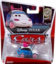 Disney / Pixar CARS MAINLINE 1:55 Die Cast Car Suki [Tuners 1/10]