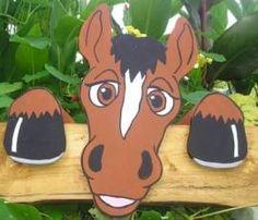 Pferd Moritz Pferde ,PFERDEKOPPEL*STALLDeko aus Holz Garten Figur - Bild vergrößern